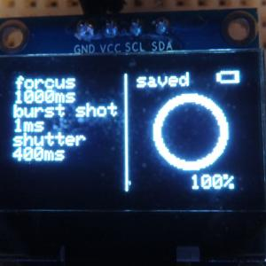 arduinoでリモートレリーズ 4