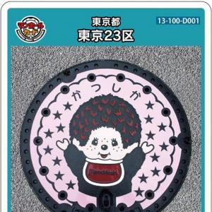 東京23区(D001)のマンホールカード