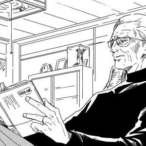 【画像】このおじいちゃんと孫の関係が理想すぎるww