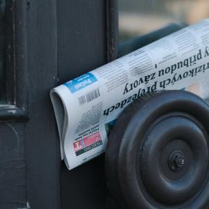 新聞紙はスグレモノ