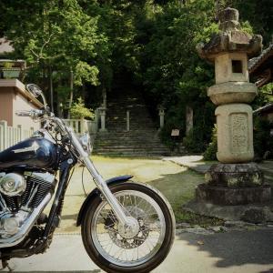 ぴーきちハーレーブログ ビワイチ ヨゴイチ ツーリング その1 石山寺~長命寺