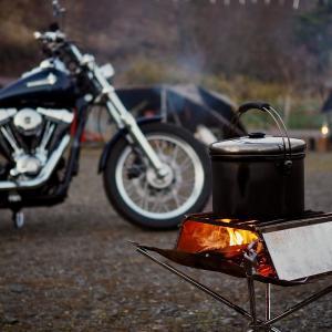 """②鶏づくしキャンプツーリングその2 くつわ池自然公園  旨味濃厚""""京かしわ""""を使ったキャンプ料理"""
