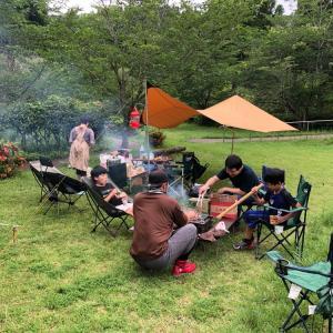 子供達にキャンプの楽しさを教えたい