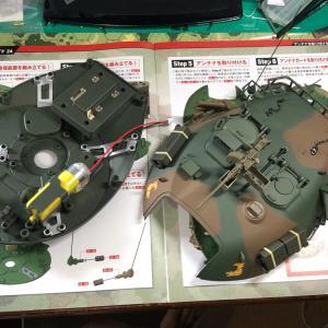 週刊74式戦車をつくる【24】