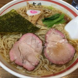 「麺壱 吉兆」中華そば @大井町(☆8.2)