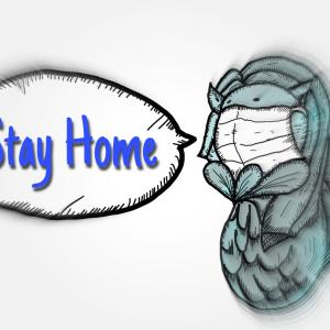 stay home ステイホーム!!