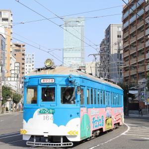 阪堺モ161形車「住吉っさん」初詣輸送撮影記(15)松虫で、いつもの...