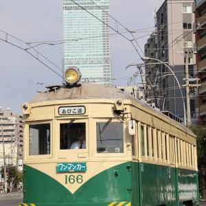 阪堺モ161形車「住吉っさん」初詣輸送撮影記(16)ふたたび、松虫で...嗚呼