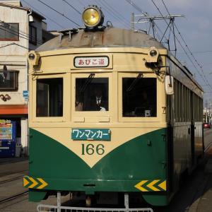 阪堺モ161形車「住吉っさん」初詣輸送撮影記(19)とうとう、この瞬間が...