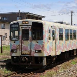 """夏の東北を巡って(7)""""新""""長井駅"""