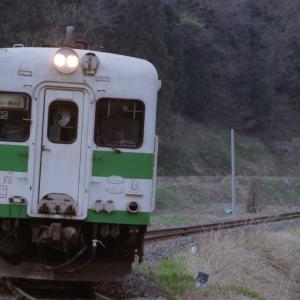 2005年5月 大糸線にキハを撮りに