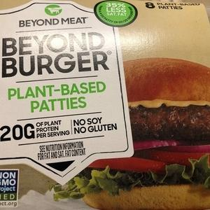 植物肉Beyondバーガー:居心地のいい場所見っけにゃん
