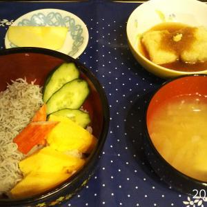 今日の腸活晩御飯