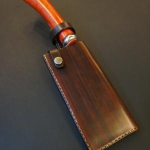 wood brown 鉈 ケース