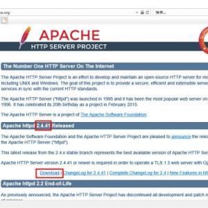 第21回 WEBサーバー導入とデータ閲覧