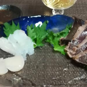 #113 宴の後 Sashimi(scallop/flouner/seared bonito)
