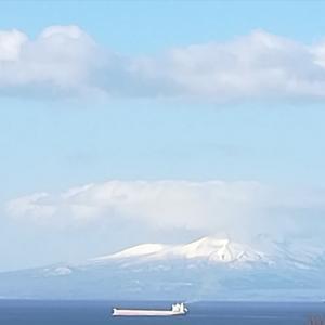 #128 Cargo Vessel ~Uchiura Bay ~Mt. Komagatake