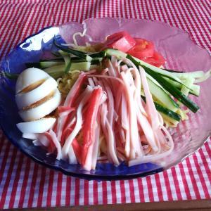 #232 冷やしラーメン Hiyashi Ramen/Chuka with toppings