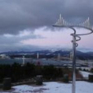 #278 Sokuryozan Observation Deck室蘭涼しい画像~測量山展望台冬