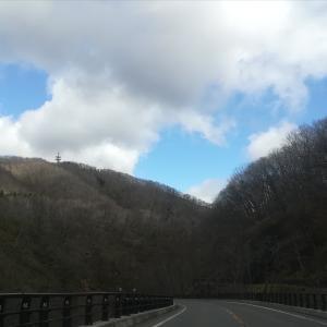 早春の紅葉谷渓谷~登別温泉へ