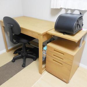 小1息子のランドセル置き場&学習机