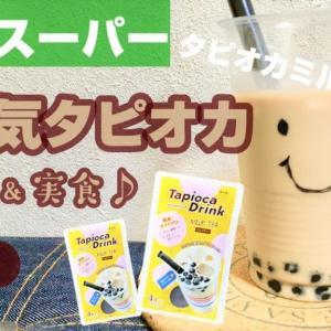 """【激安】【業務スーパー】で買えるおすすめスイーツ4選【タピオカミルクティー】recommended sweets in Japanese supermarket """"Gyomu Surper"""""""