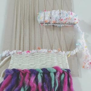 【100均】セリアの織り機風!段ボールで織り機をお手軽DIY