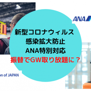 GWの特典航空券が取り放題で余裕で取れた! ANA国内線、新型コロナウィルス特別対応開始の影響で。