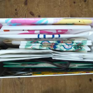 紙袋・買い物袋のストック整理