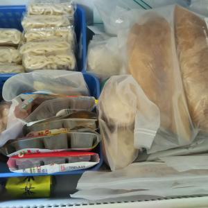 最近のスーパー買出し状況☆我が家の冷凍庫の在庫について