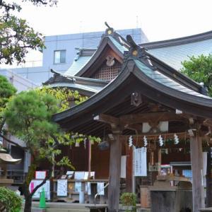現存都内最古の富士塚 – 鳩森八幡神社(東京渋谷区)