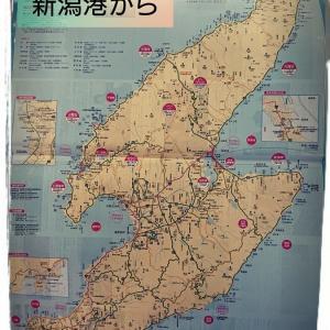 新潟港から佐渡島へ…道の駅ふるさと村から、佐渡汽船乗り場、そして車と共に船旅へ~ぷちキャンカーと夫婦で車中泊旅~