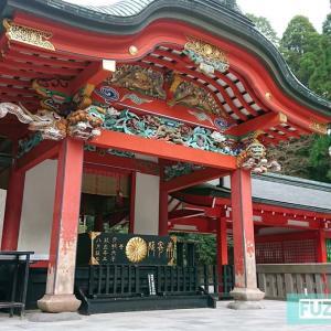 『霧島神宮』はじまりはここから…~朱色に染まるものと、色鮮やかな本殿と~【鹿児島県】