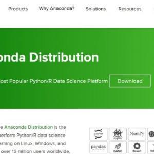 人工知能のためのツールPythonの動作環境整備 Anacondaインストール