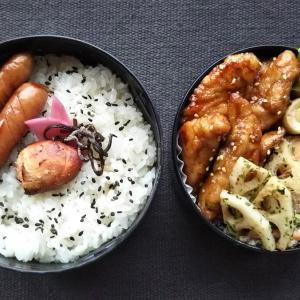 鶏胸肉の名古屋風甘辛チキン弁当