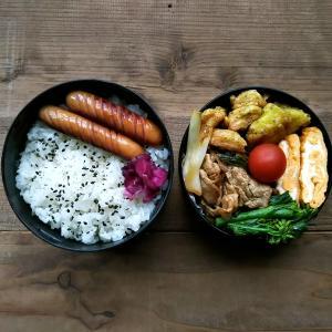 魚肉ソーセージのカレーフリッター弁当/布マスク第2弾
