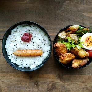 鶏胸肉のカレー唐揚げ弁当