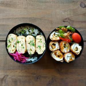 鶏胸肉の大葉チーズロールフライ弁当/小学生の弁当