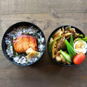 豚肉と夏野菜炒め弁当
