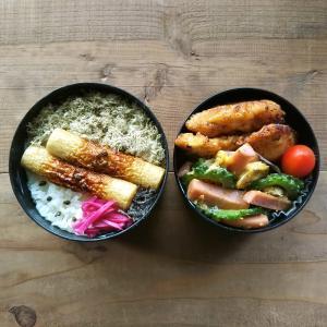 魚肉ソーセージでゴーヤチャンプル弁当