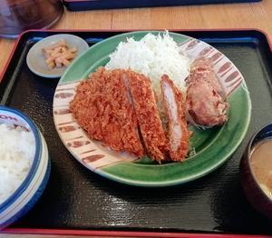 かつさと コンビロースかつ定食!!!
