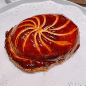 殿堂入りのお皿たち その552【ラチュレ の アワビのパイ】