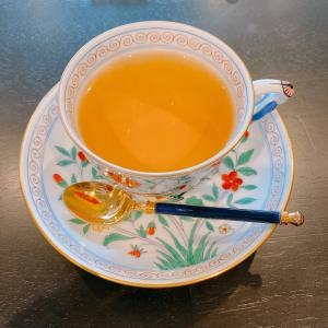 殿堂入りのお皿たち その640【表参道サロン・ド・テ・ラヴォンド の 紅茶】