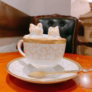 殿堂入りのお皿たち その654【Ken's珈琲店 の 3Dカプチーノ】