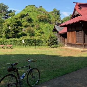 荒幡富士を通って狭山湖まで
