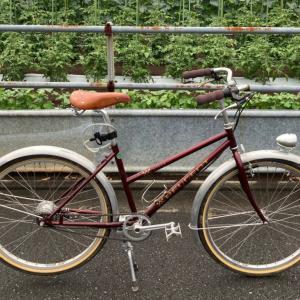 通勤用自転車の整備