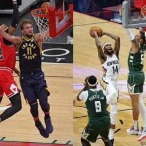 【NBA】2020-21シーズン第1週最優秀選手は東サボニスと西イングラム!!