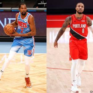 【NBA】2020-21シーズン第4週最優秀選手東デュラントと西リラード!!