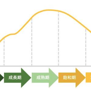 【銘柄選定】個別株投資におけるプロダクトライフサイクルについて
