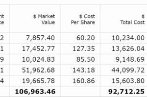 【2020年2月第2W】米国株ポートフォリオの運用状況